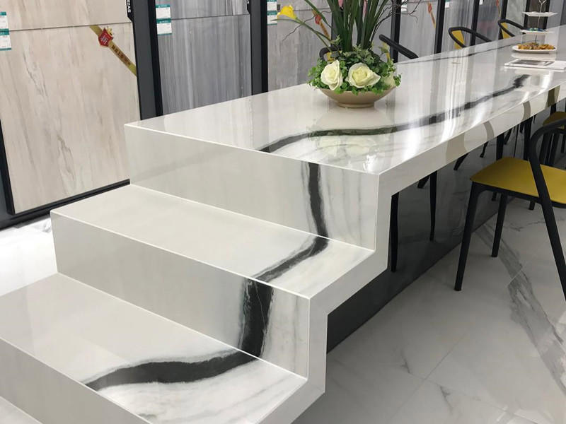 Panda White Marble Table Countertop