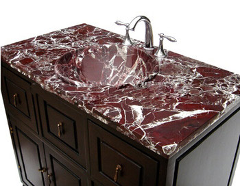 Purple Marble Bathroom Vanity Tops