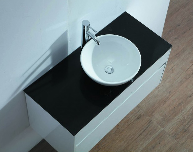 Black Quartz Vanity Top