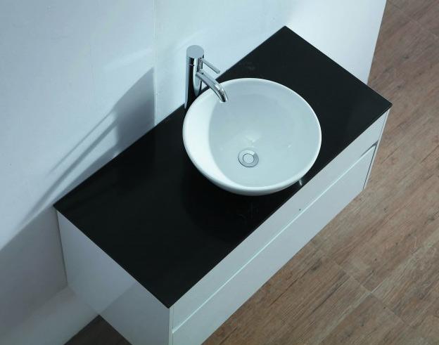 Black Quartz Vanity Top