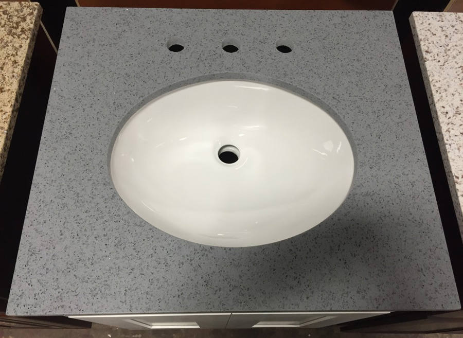 Grey Quartz Vanity Top
