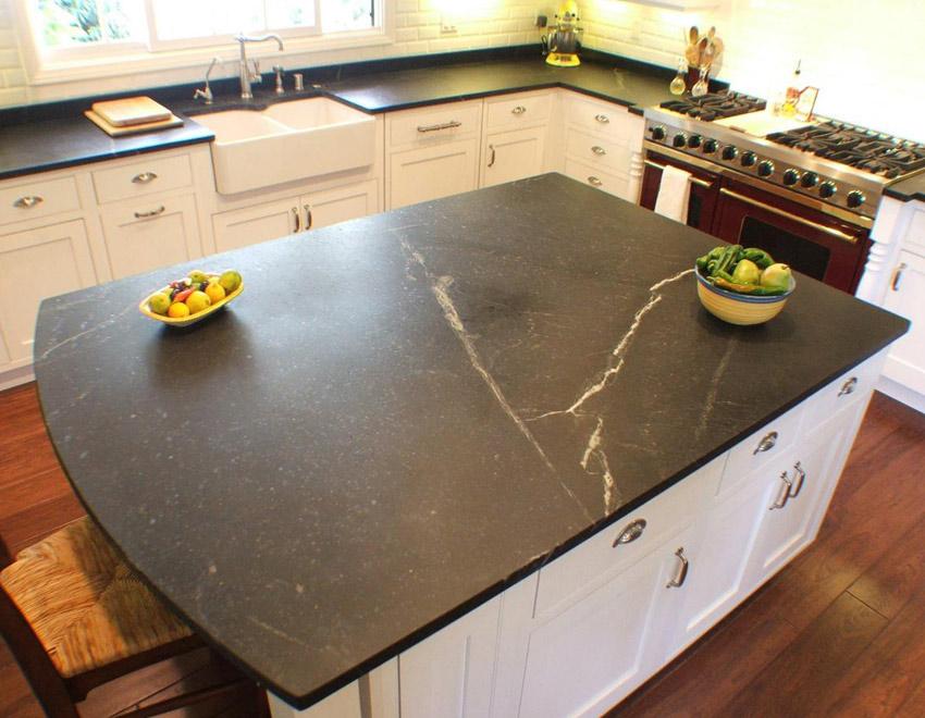Soapstone Kitchen Island Countertops