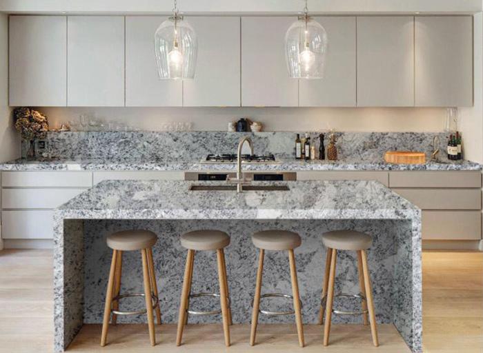 Antique White Granite Kitchen Top