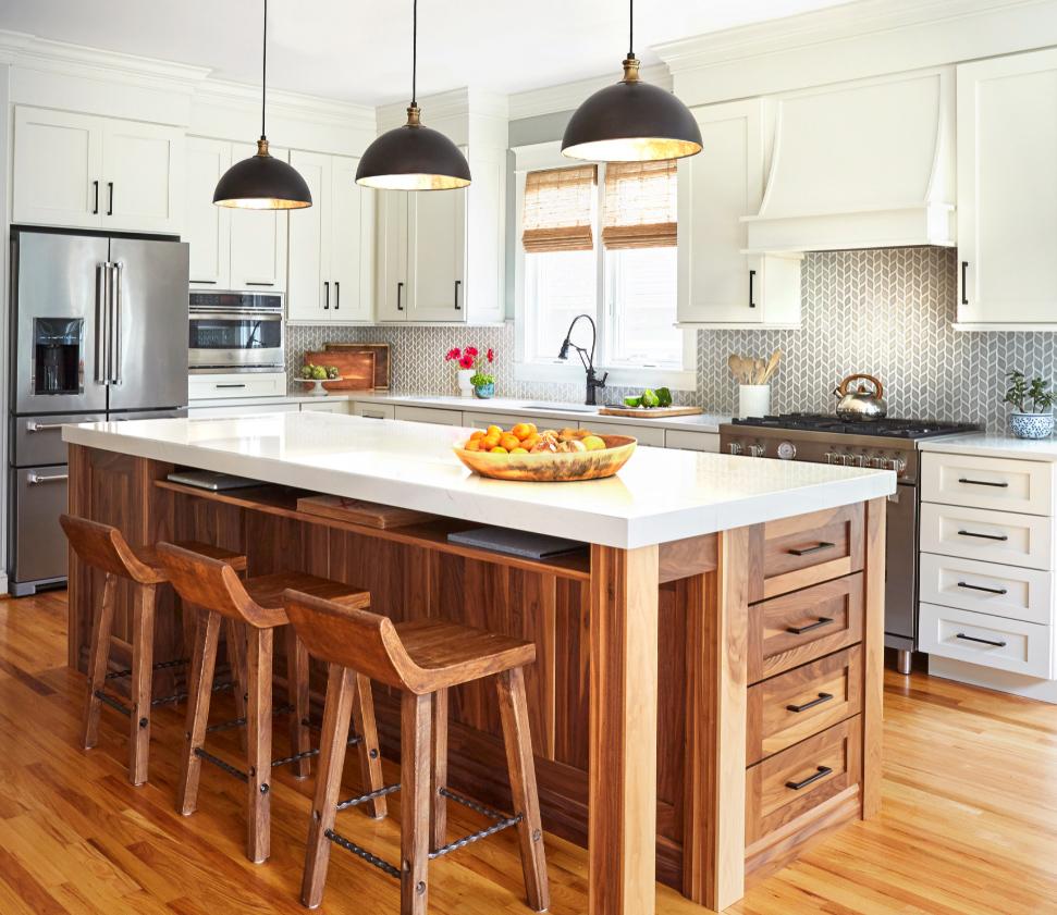 Artificial Quartz Kitchen Countertop