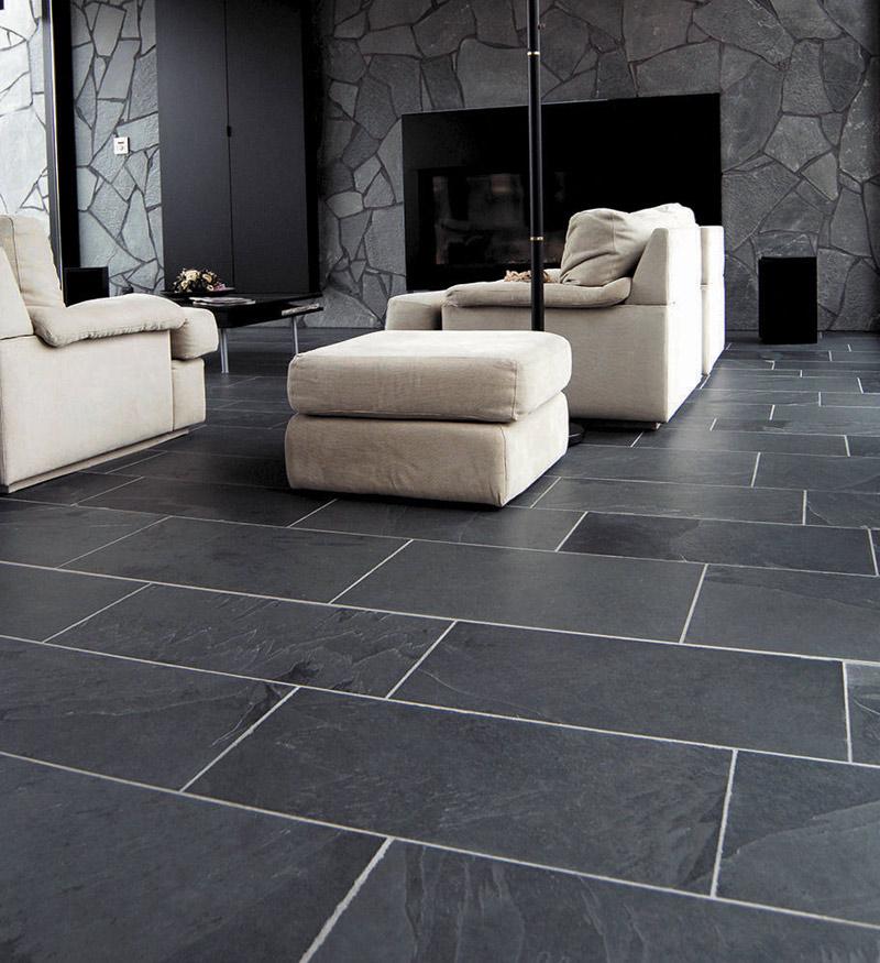 Black Slate Flooring