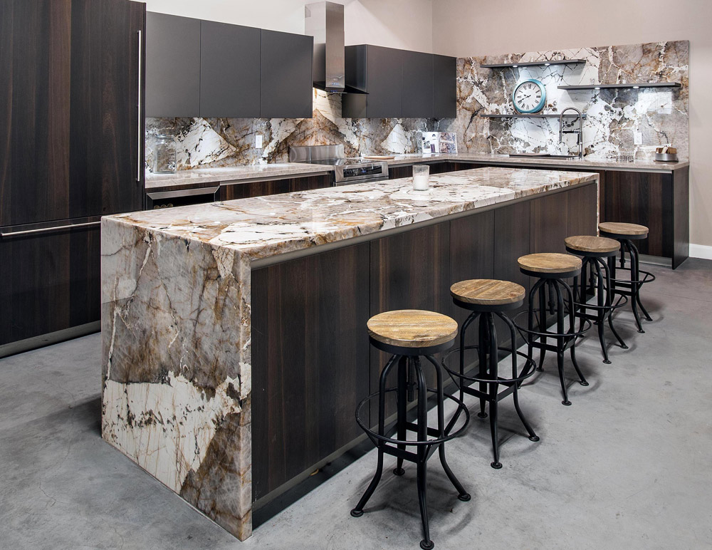 Beau Marble Bar Top