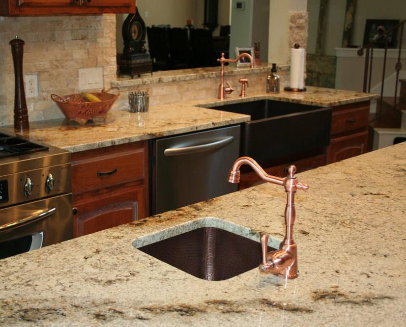 Sienna Beige Granite Countertops