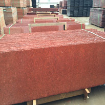 G603 Dyed Red Granite