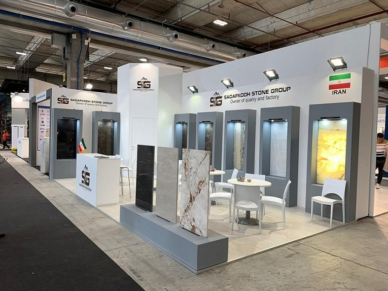 Sadafkooh Stone Co at MarmoMac verona Fair