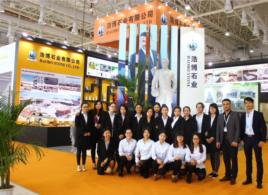 Haobo Stone 2016th Xiamen Stone Fair