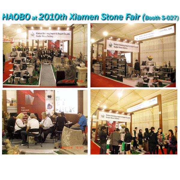 Haobo Stone 2010 Xiamen Stone Fair