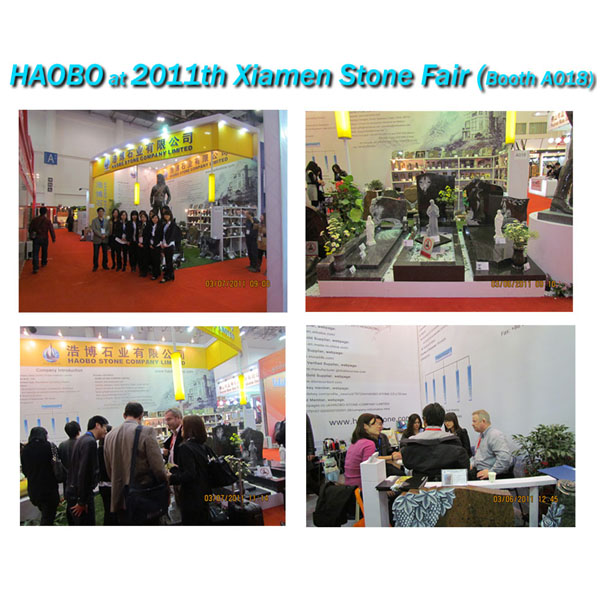 Haobo Stone 2011th Xiamen Stone Fair