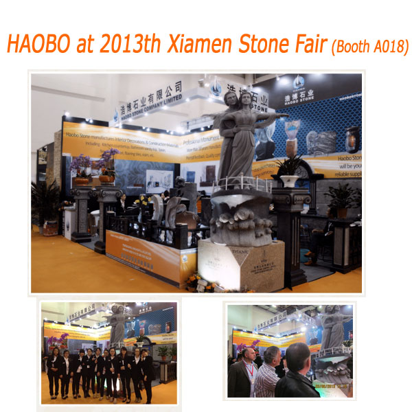Haobo Stone 2013th Xiamen Stone Fair