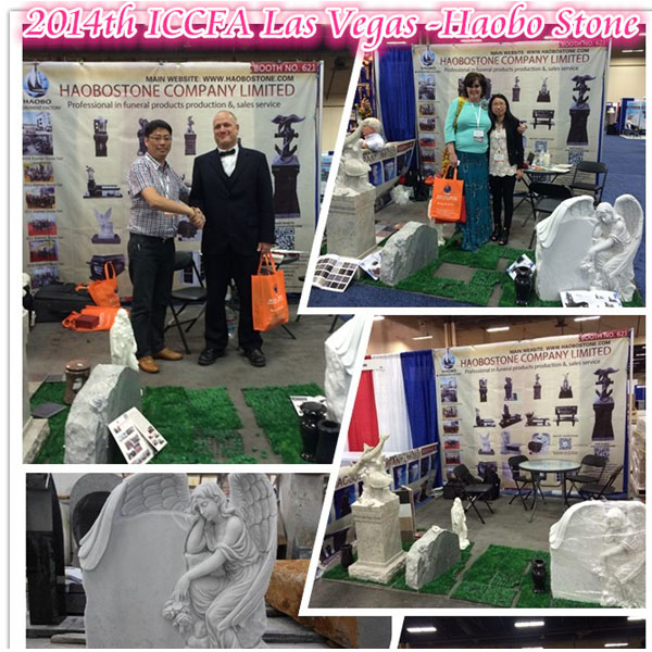 Haobo Stone 2014th ICCFA FUNERAL EXHIBTION