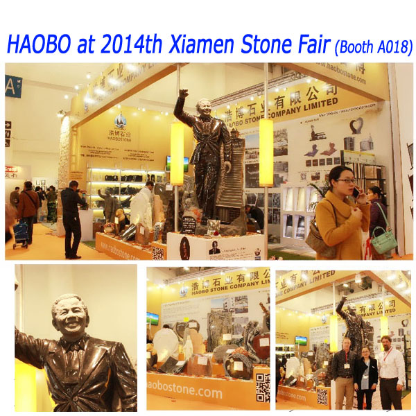 Haobo Stone 2014th Xiamen Stone Fair