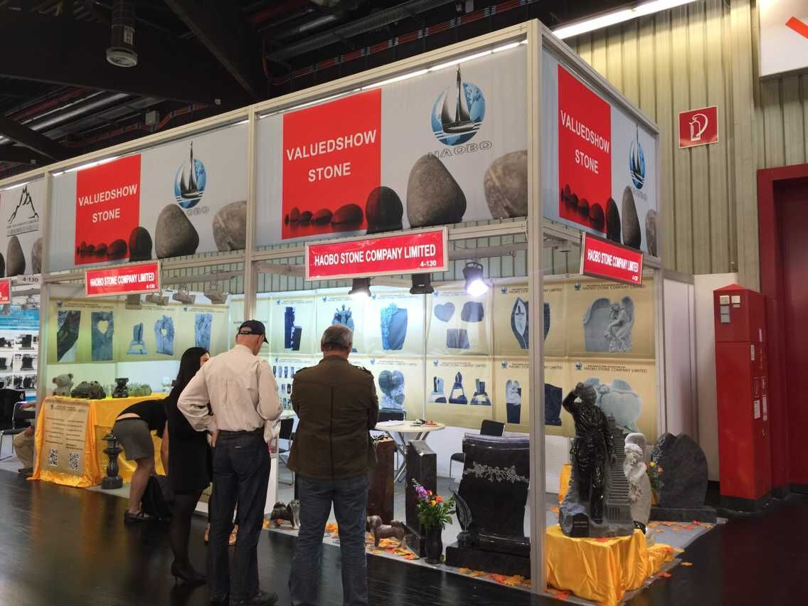 Haobo Stone 2015th Nuremberg Stone-Tech Exhibition