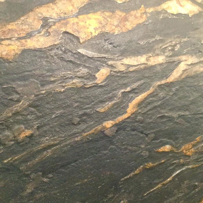 Black Cosmic Escovado Granite
