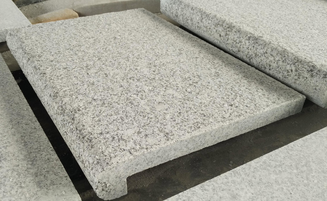 G603 Granite Swimming Pool Coping Flamed Tiles