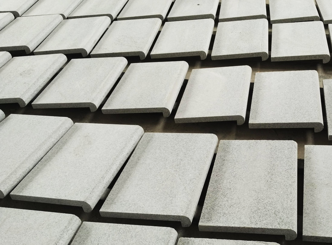 G603 Grey Granite Tiles for Swimming Pool Coping Borders