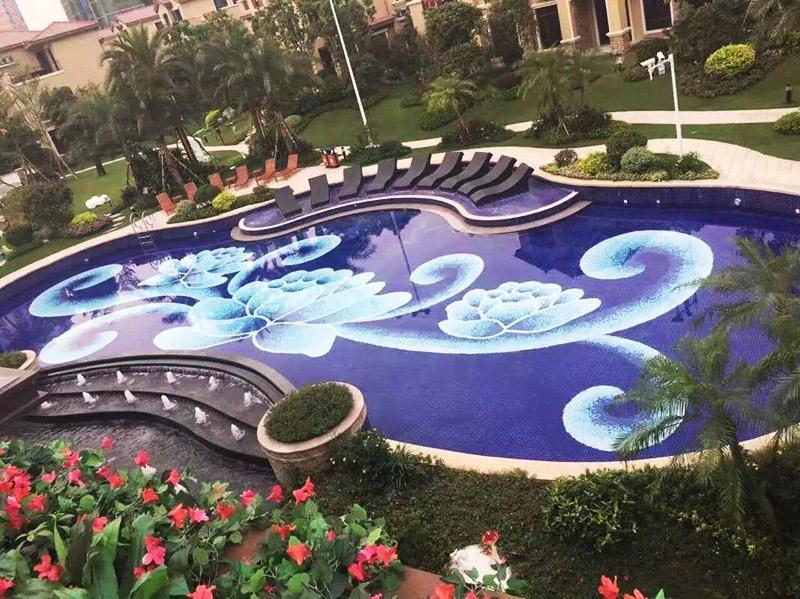 Waterjet Pattern Mosaics