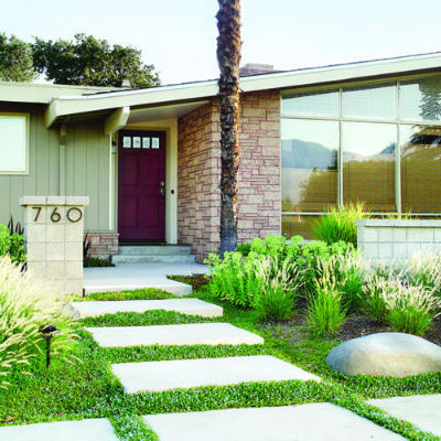 Budget-friendly curb appeal