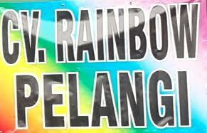 CV Rainbow Pelangi