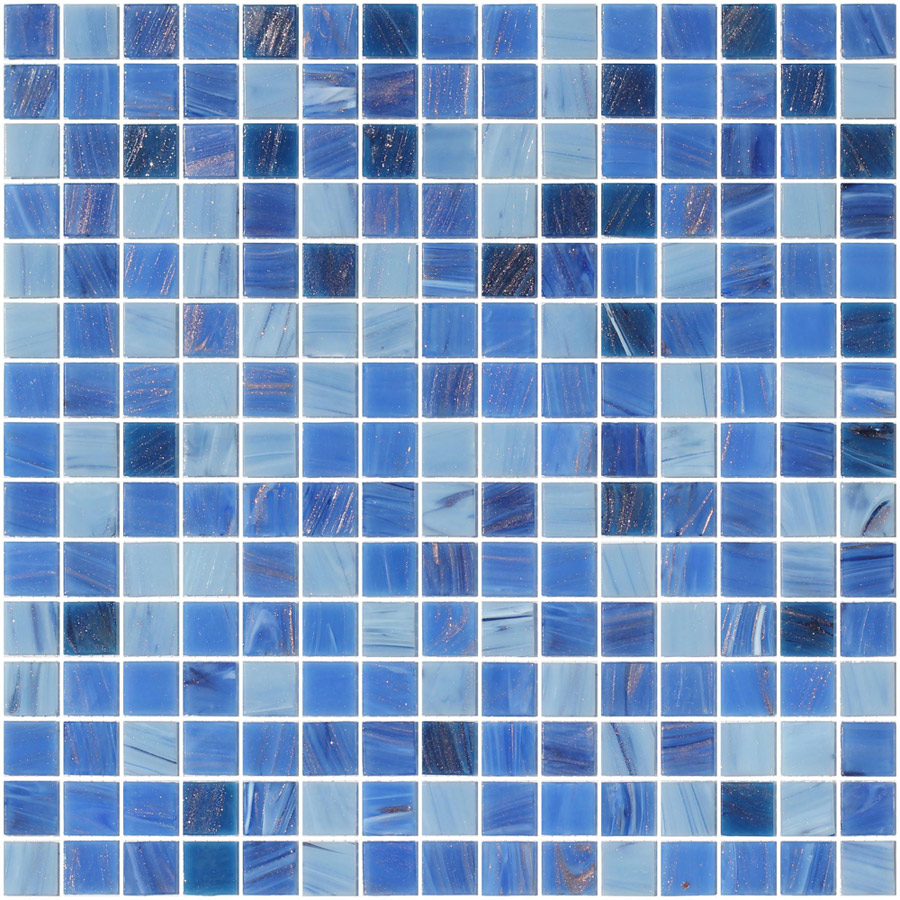 Blue Glass Mosaic Tiles for Swimming Pool