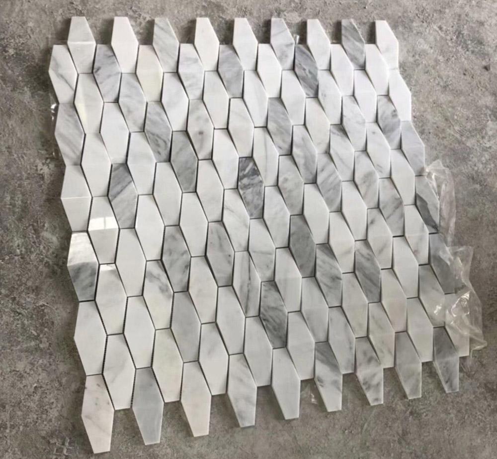 3D Marble Mosaic Tiles