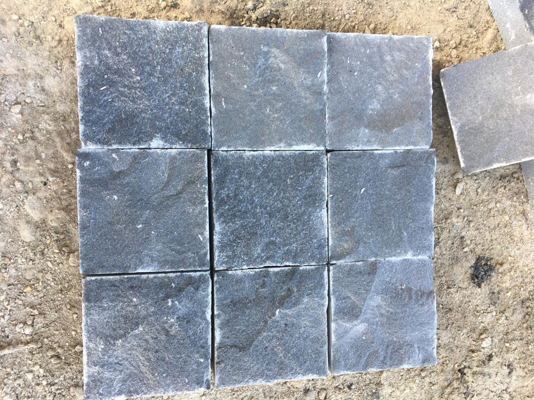 Absolute Black Basalt Cobbles