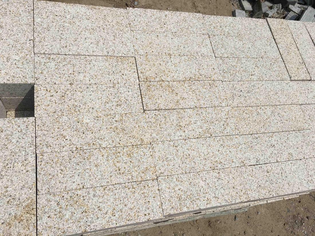 Rusty Yellow Granite Paving Stones