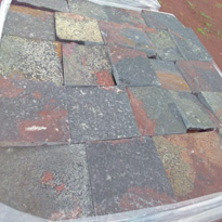 Green Gray Porphyry Paving Stones