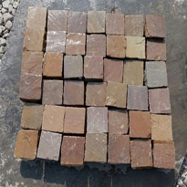 Multi-Color Sandstone Cobbles