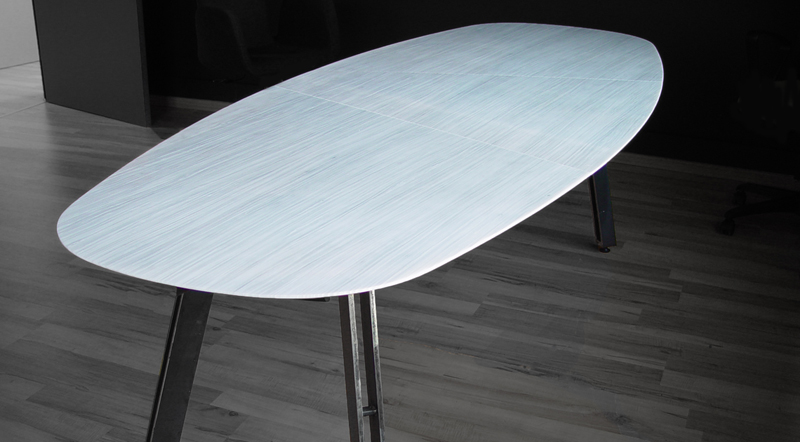 LEFKON Marble Table designed by GEM Architects
