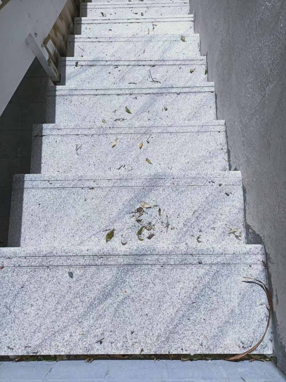 Viscont White Granite Stairs 2