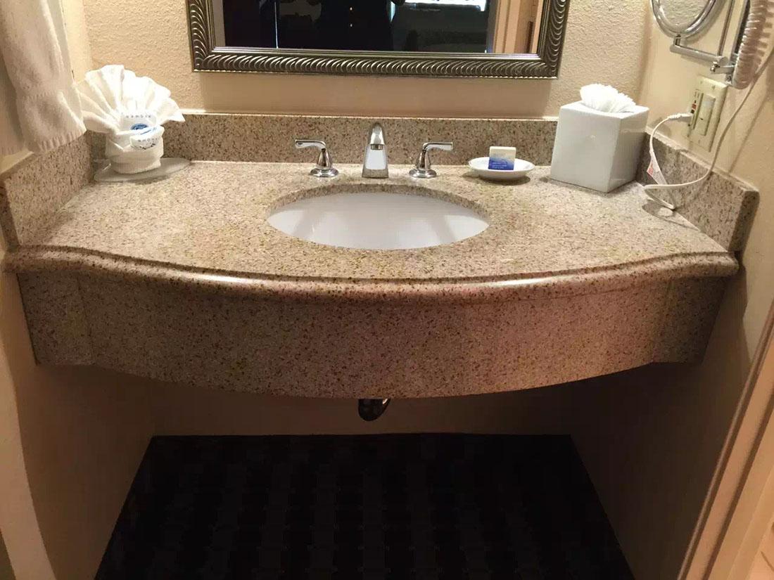 Golden Granite Vanity Top