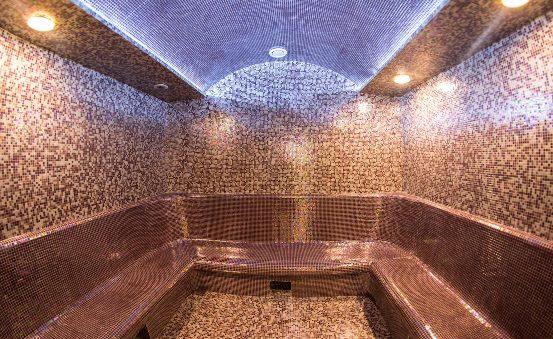 Hammam in sauna