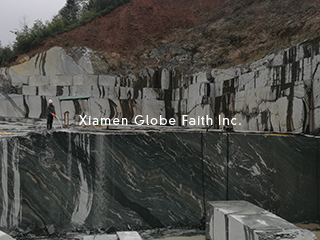 green fantasy marble quarry
