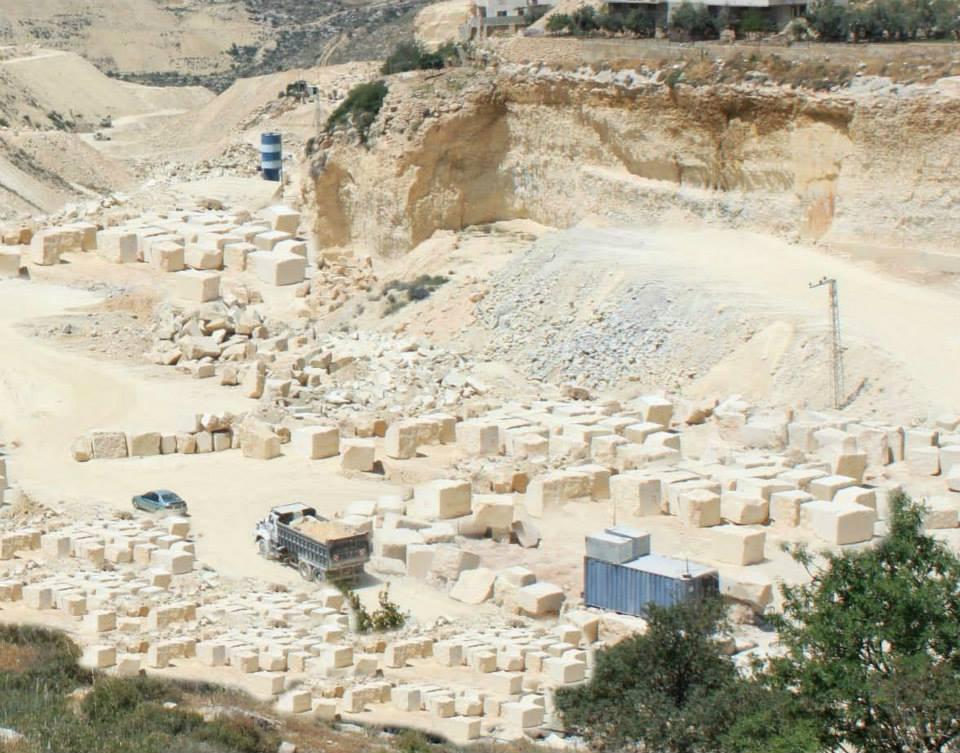 Zena Quarry - Jerusalem Gold Limestone