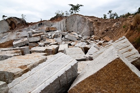 PINK GRANITE QUARRY