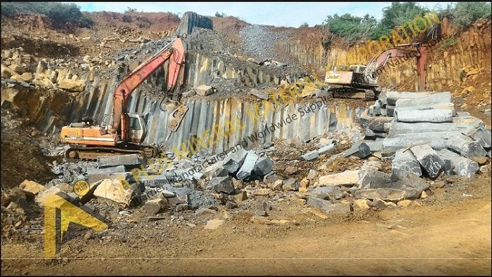 Qui Nhonv Basalt Quarry