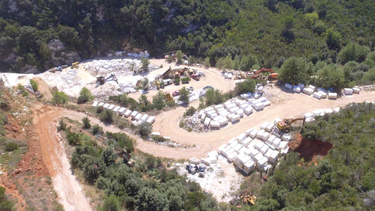 SILVER CLOUD Marble Quarry