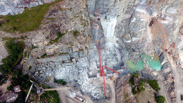 Green Marble Quarry