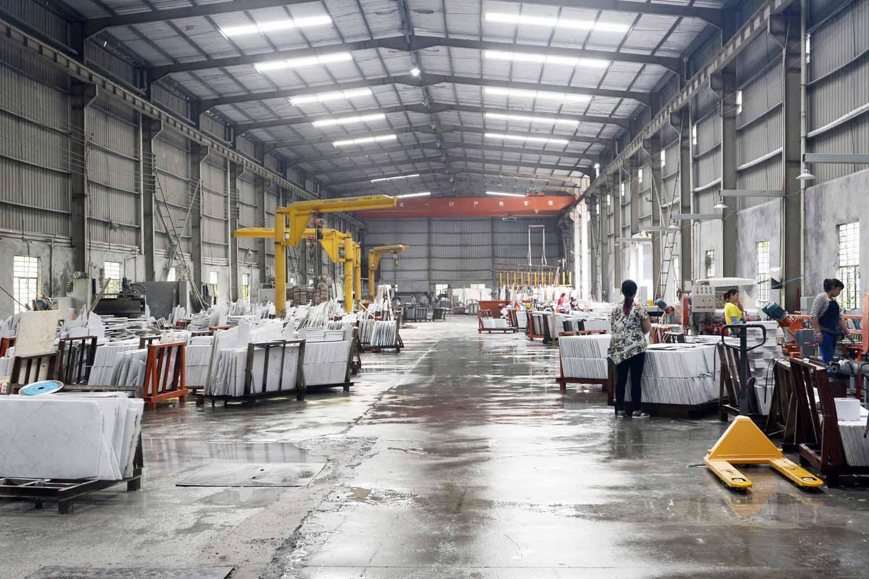 Artificial Quartz countertop process