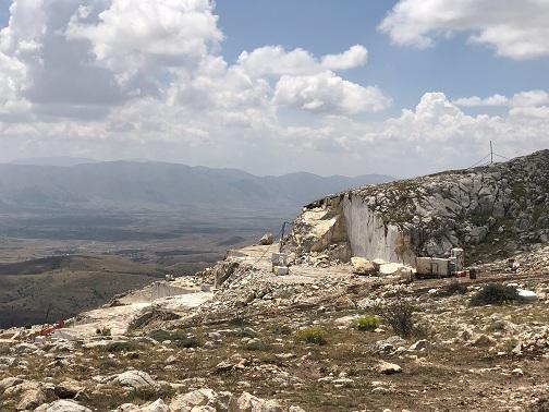 Aegean Grey Marble Quarry