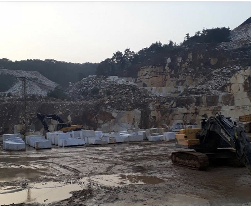 Lilac Marble Quarry