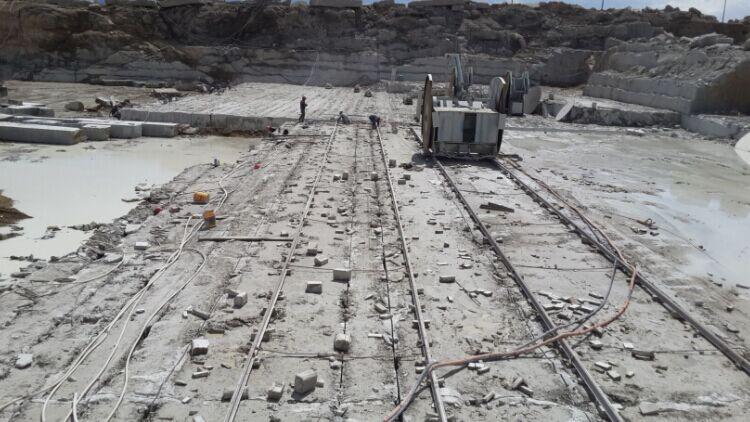 Inner Mongolia white granite quarry