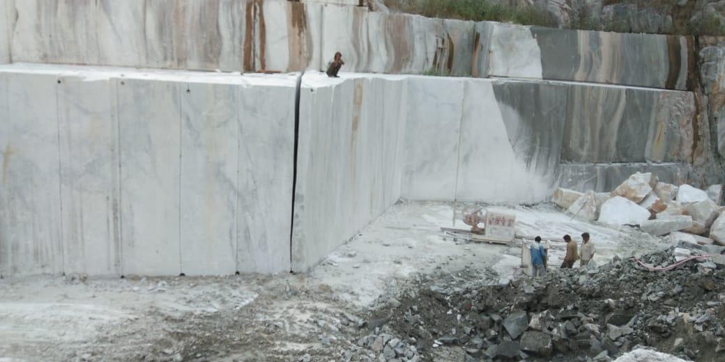 Pasha White Marble Quarry