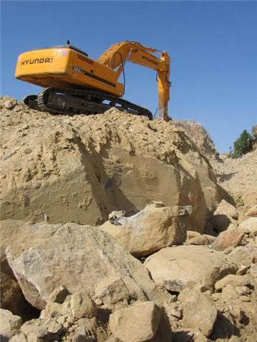 Diabase quarry of Malatya