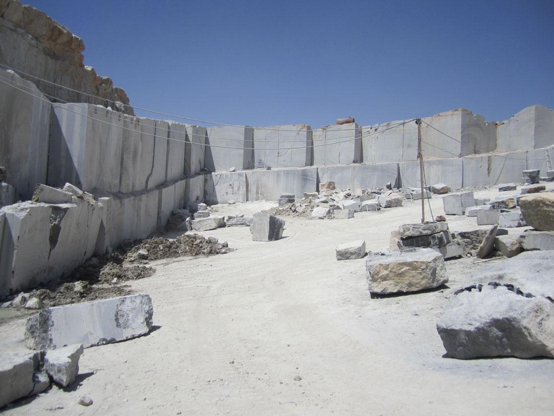 Pietra Grey Marble Quarry