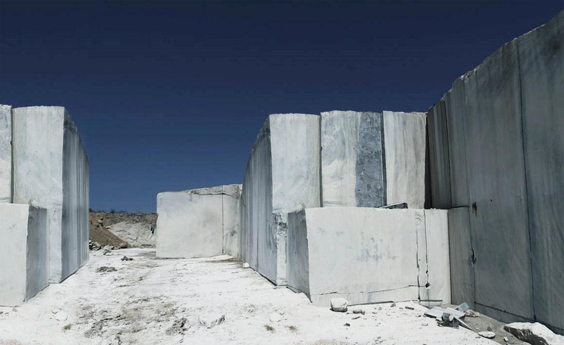 Labradorite Blue Granite Quarry